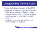 understanding running costs
