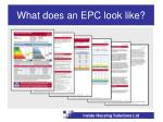 what does an epc look like