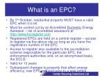 what is an epc3