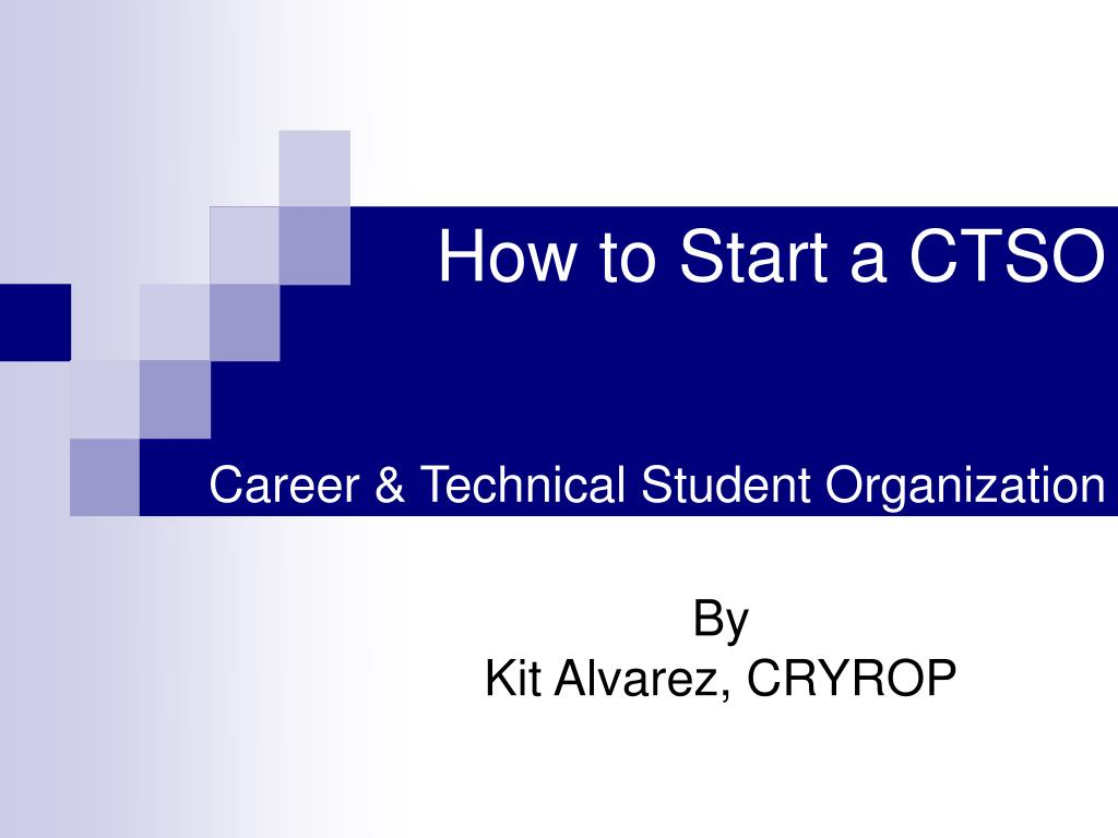 How to Start a CTSO