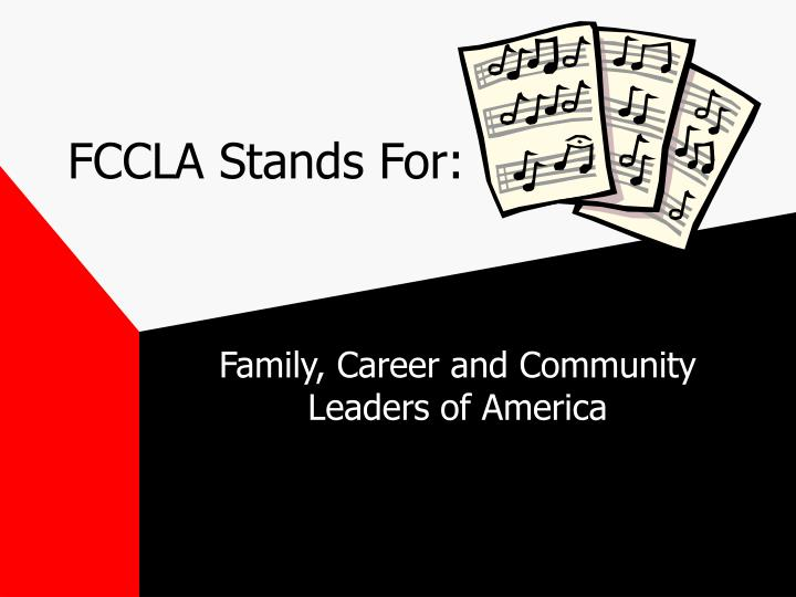 Fccla stands for