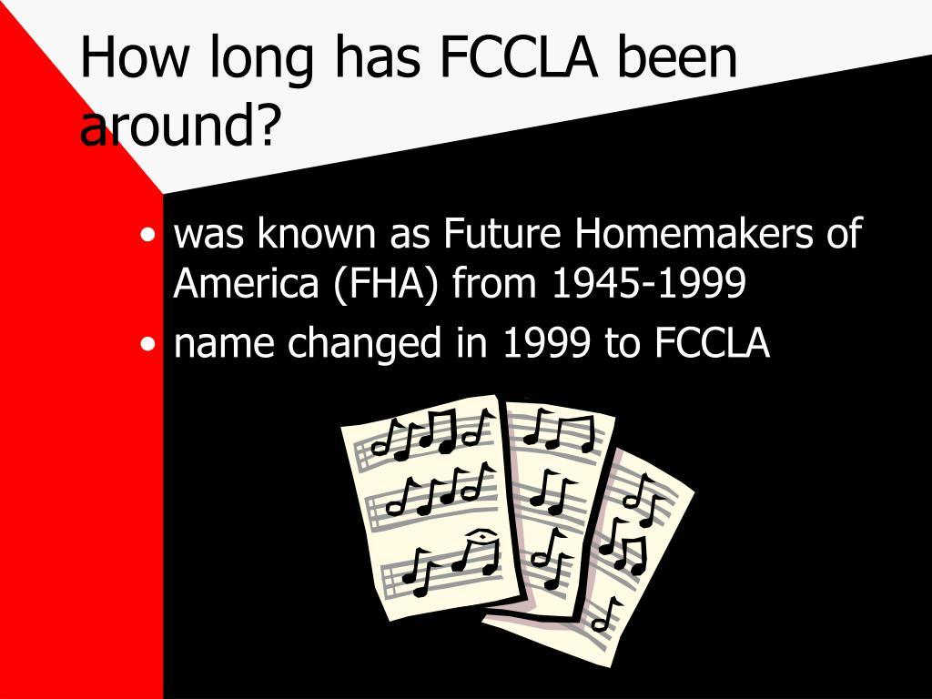 How long has FCCLA been around?