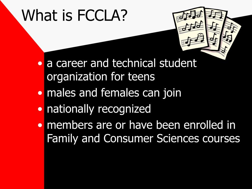 What is FCCLA?