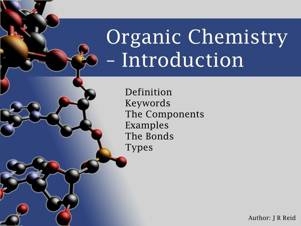 organic chemistry introduction l.