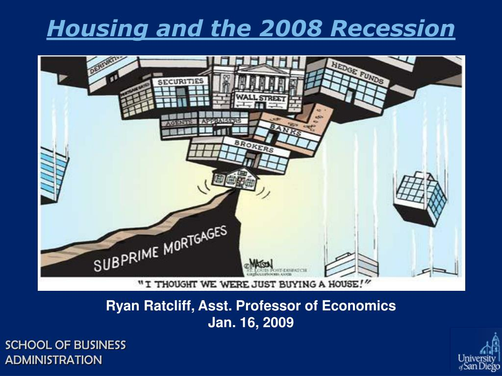 housing and the 2008 recession l.