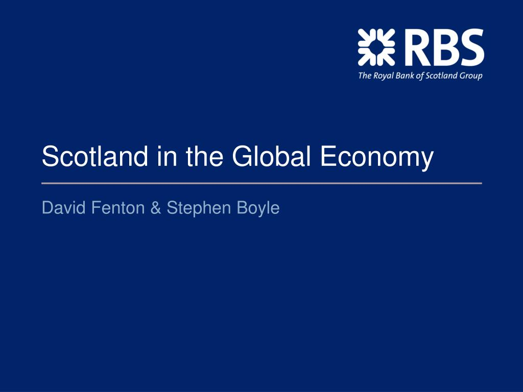 scotland in the global economy l.