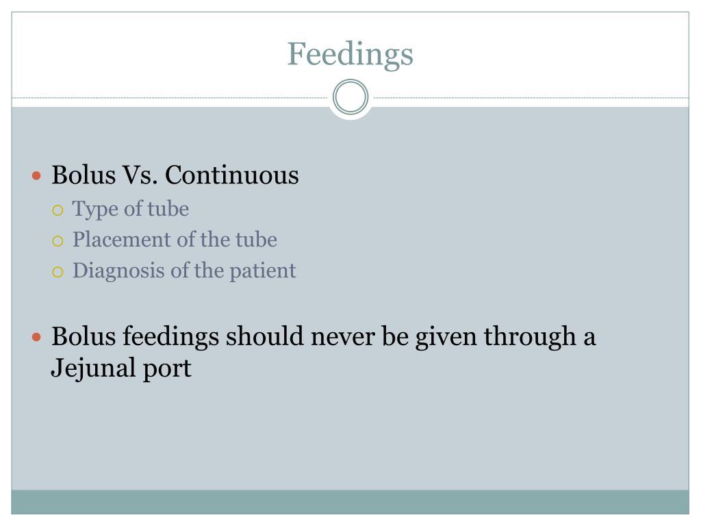 Feedings
