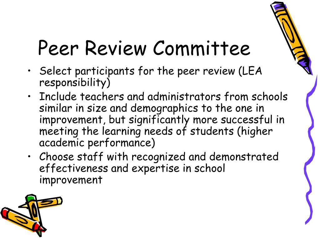 Peer Review Committee