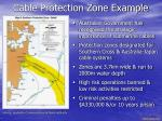 cable protection zone example