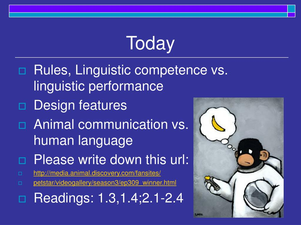linguistic performance and competence This lesson defines communicative competence and the four competence areas that construct the model: linguistic, sociolinguistic, discourse, and.