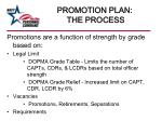 promotion plan the process