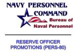 reserve officer promotions pers 80
