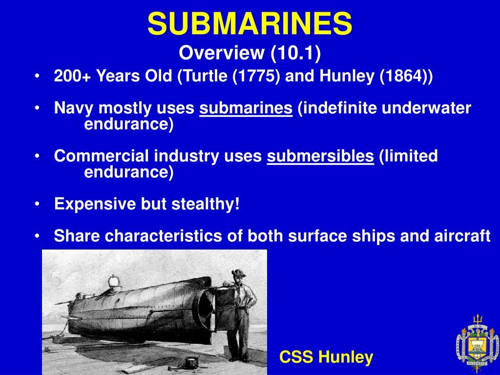 submarines l.