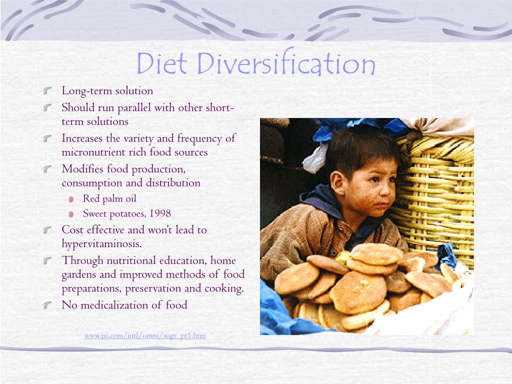 Diet Diversification