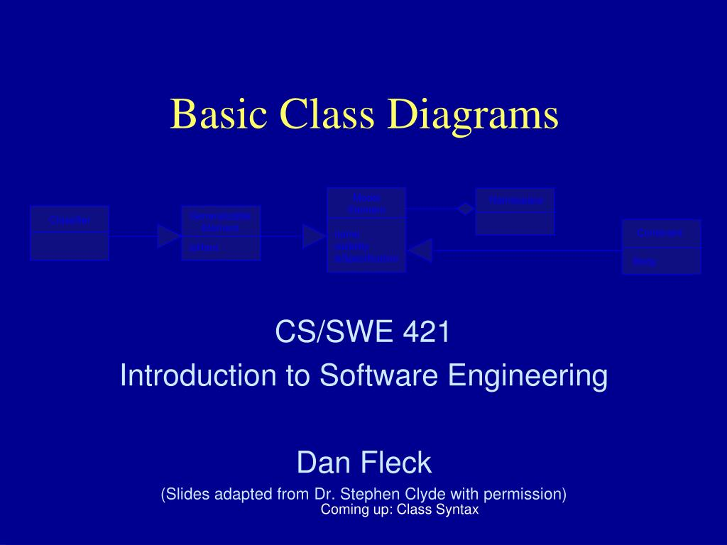 PPT - Basic Class Diagrams PowerPoint Presentation, free ...