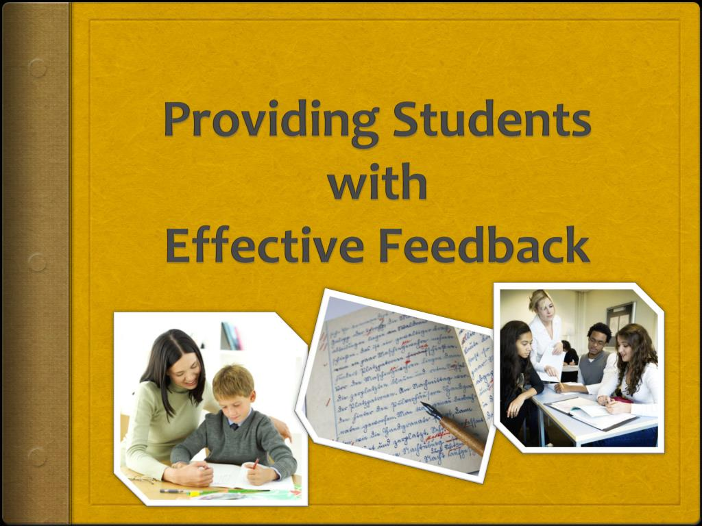 providing students with effective feedback l.