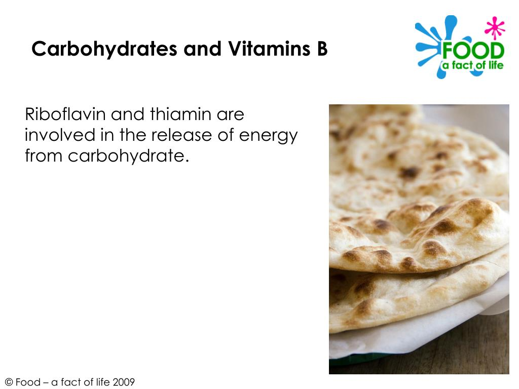 Carbohydrates and Vitamins B