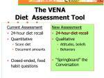 the vena diet assessment tool