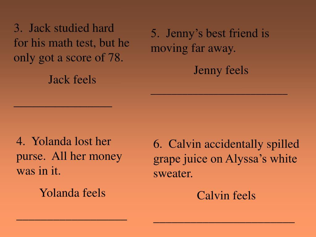3.  Jack studied hard for his math test, but he only got a score of 78.