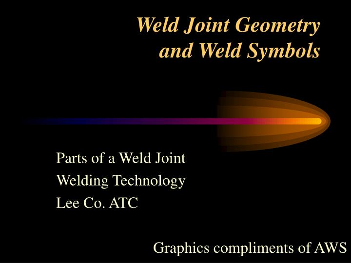 weld joint geometry and weld symbols n.