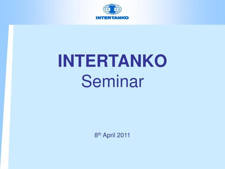 intertanko seminar n.