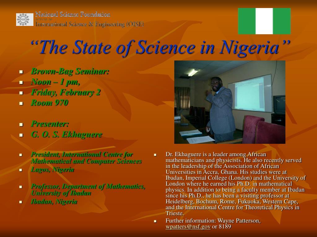 Brown-Bag Seminar: