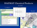 hazmat chemical products