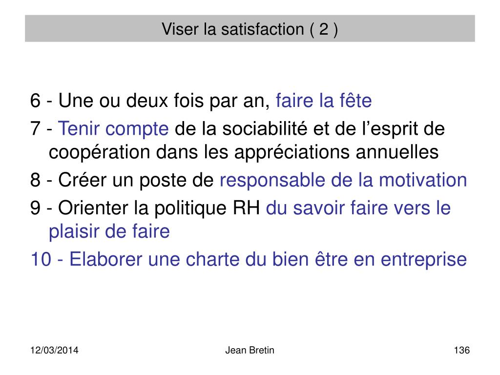 Viser la satisfaction ( 2 )