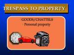 trespass to property3