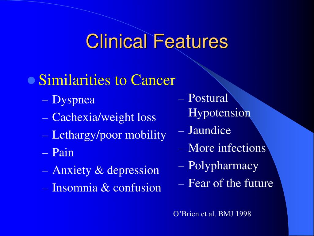 Similarities to Cancer