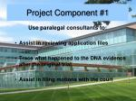 project component 1