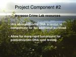 project component 2