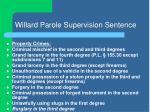 willard parole supervision sentence7