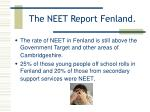 the neet report fenland14