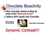 chocolate bioactivity