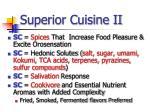 superior cuisine ii