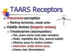 taars receptors
