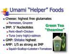 umami helper foods