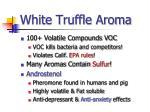 white truffle aroma