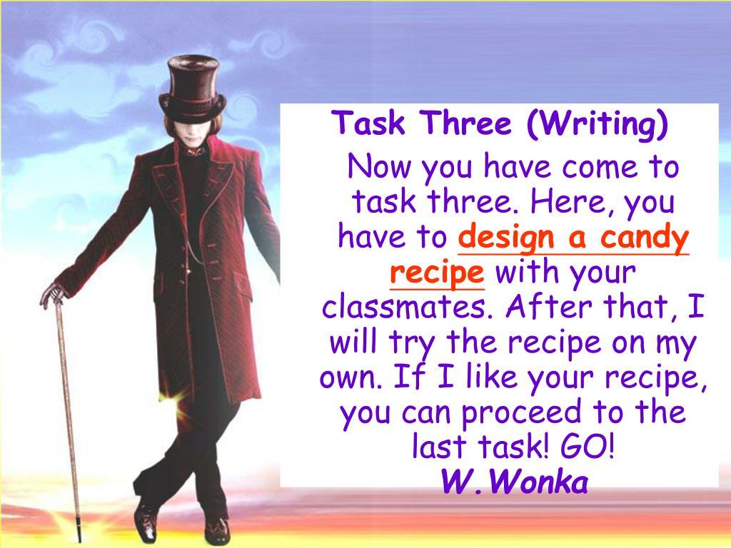 Task Three (Writing)