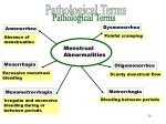 pathological terms part 2