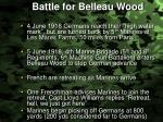 battle for belleau wood