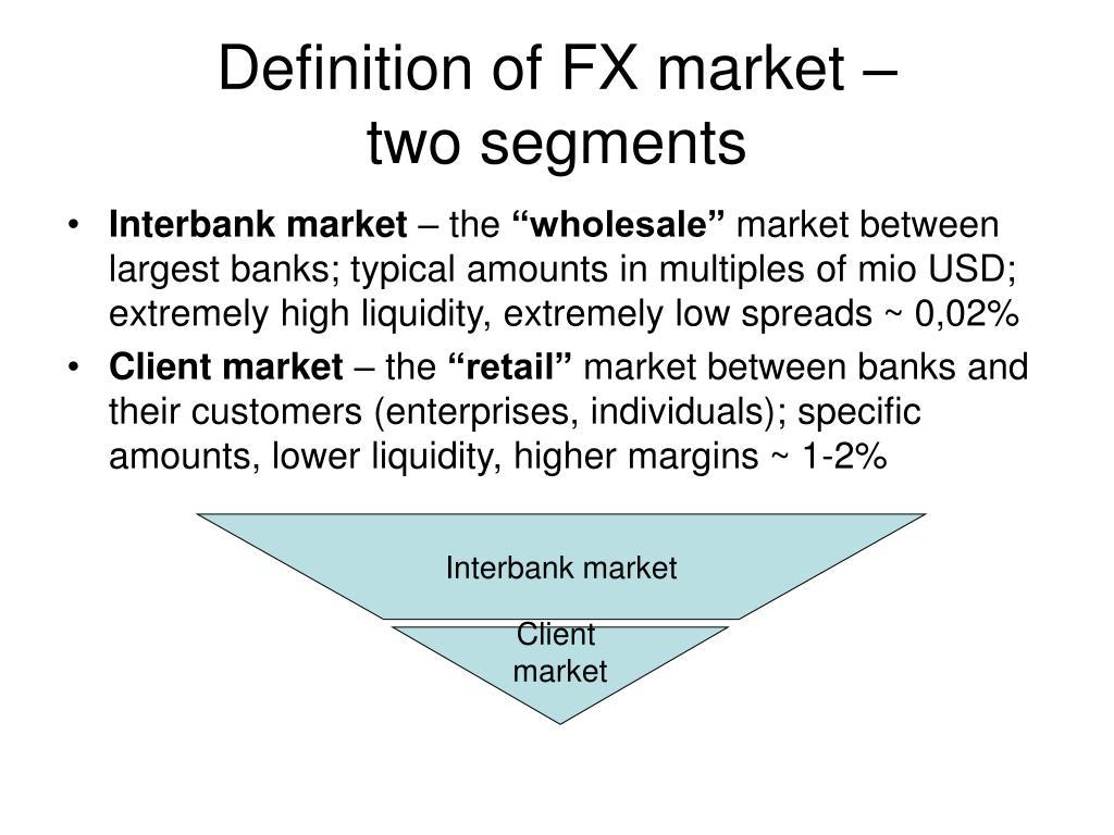 international foreign exchange market essay