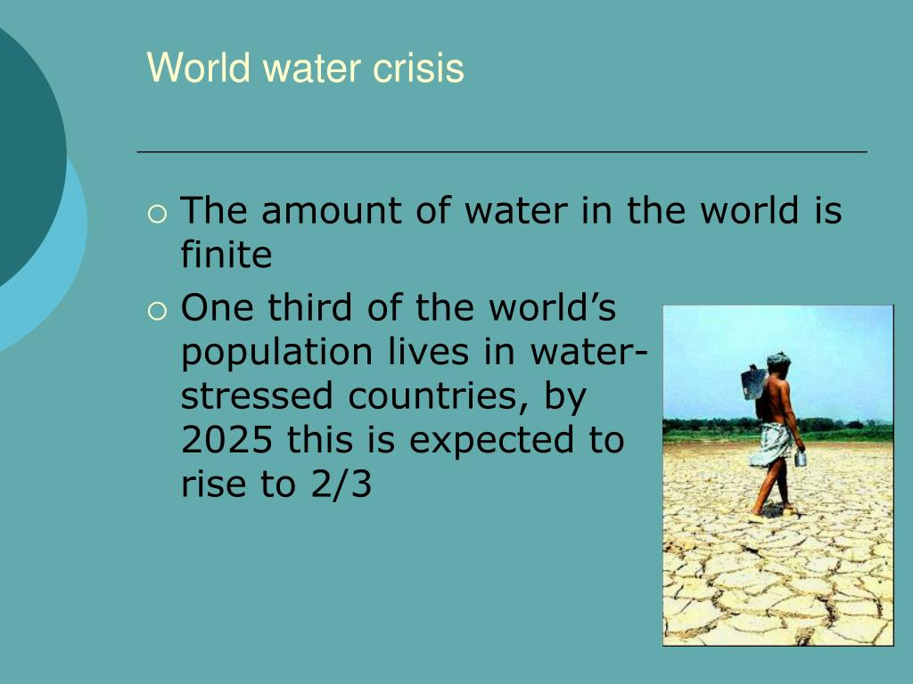 a world water crisis Why solving the world's water crisis means more than just quenching thirst water crisis — the of the world where the water crisis is.
