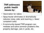 tnr addresses public health issues by