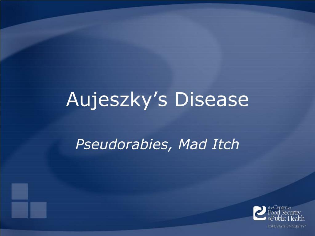 aujeszky s disease l.