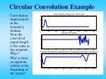 circular convolution example