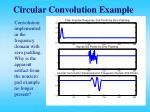 circular convolution example16
