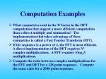 computation examples8
