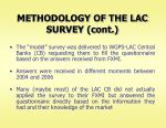 methodology of the lac survey cont
